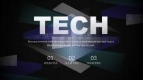 【透视科技】商务企业宣传数据分析模板