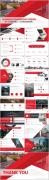 【RED】红色(三十二)商务工作报告模板【137】示例7