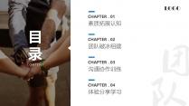 【职业培训12】团队素质拓展训练&团队建设管理课程示例3