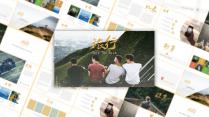 【时尚复古】户外旅行系列创意模板