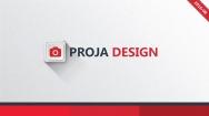 【PPT-給你好看】簡約紅帶創意排版商務通用模板