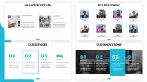 【蓝色】欧美简洁商业项目计划书PPT通用模板示例5