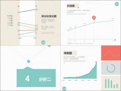 【数据分析系列】简约3色数据分析报告模板(行业通用示例5