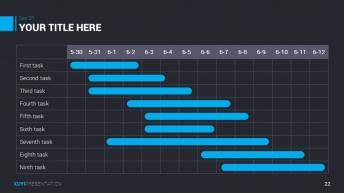 2015年蓝色简洁超大气商务汇报PPT模板示例7