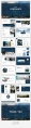 【极简风】海蓝杂志风PPT商务模板示例5
