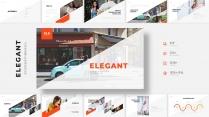 【ELEGANT】简约创意商务PPT模板系列01