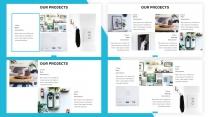 【蓝色】欧美简洁商业项目计划书PPT通用模板示例3