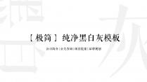 【极简黑白】公司简介+公关咨询+项目提案+品牌规划示例2