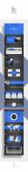 【深海蓝】蓝色系典藏动画版PPT模板示例8