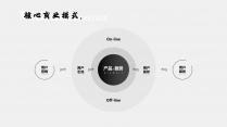 【极简主义12】高级商业计划书&黑白灰简约轻质感示例7