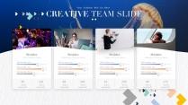 【質感水彩】視覺創意干凈清新演講提案品牌多排版模示例3