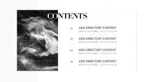 「简。」黑白极简暗黑商务风13示例3