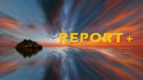 高颜值震撼PPT-商务品牌策划总结报告