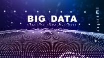 【動畫演示】智能粒子大數據現代科技高品質商務模板