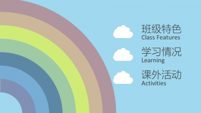 2014彩虹班班级汇报,课题演讲,课件演示ppt
