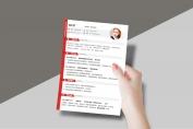 【一页纸简历】HR一眼相中PPT个人简历-174示例6