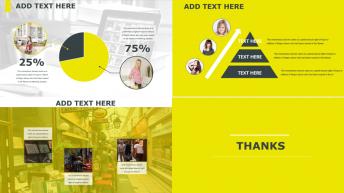 实用且时尚 黄色主题商务PPT示例5