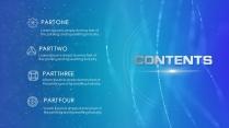 【动态皆宜】科技粒子视觉未来时尚演讲年会商务模版示例4