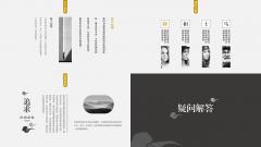【简素第七季】禅意浓动态中国风疗愈型PPT模板示例6