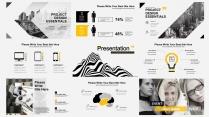 欧美 黑白 极简 # 创意数据报告模板示例5