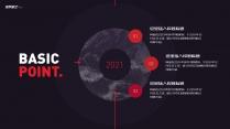 【星辰大海】红色大气速度感通用模板示例5