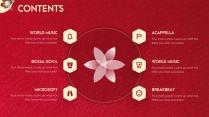 【动画PPT】圣诞红质感商务模板45.0示例4