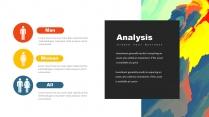 创意抽象水彩高品质商务可视化多用途模板示例5