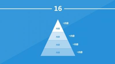 ppt素材 ppt图表 【实用】扁平化ppt图表设计70套
