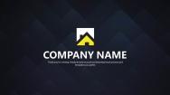 【给力PPT】简约黄黑企业品牌通用PPT模板