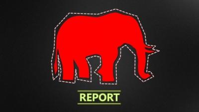 大象踏过一张ppt