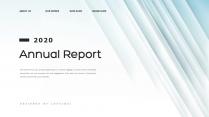 【创意几何】蓝色创意总结报告工作计划商务汇报模板