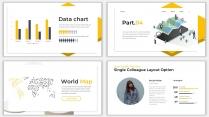 2018黄色极简网页风PPT模板示例7