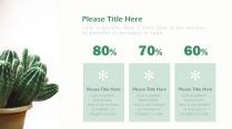 【绿色】欧美简约实用商业计划书项目报告示例6