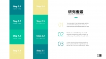 【扁平化】Material清新设计&毕业论文答辩示例5