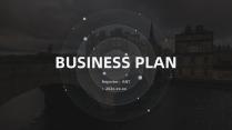 「酷黑质感」大气商业计划书项目总结(一)