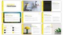 【极简】黄色清新欧美科技公司商务展示计划书示例2