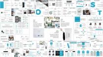 【蓝色】欧美简洁商业项目计划书PPT通用模板示例6