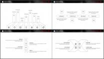 网页风大气极简精致排版企业商务通用PPT模板示例5