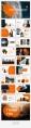 【简约商务】橙色自然致简网页杂志风PPT模板示例5