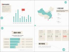 【数据分析系列】简约3色数据分析报告模板(行业通用示例3
