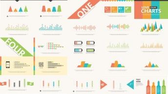 大气简约实用商务图表报告大合集(含100套图表)示例8