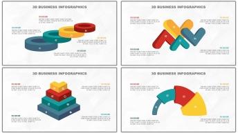 多彩3D立体商务图表20套【第一期】