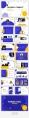 【时尚商务】黄蓝活力明快产品介绍PPT模板示例4