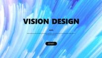 【全页设计】水彩总结报告工作计划商务策划模板09