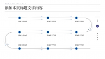 【商务】白蓝极简线条超实用主义通用模板3示例7
