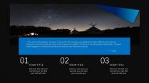 【未来之瞳】蓝色经典质感报告模板5示例6
