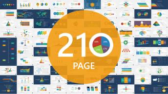 【210頁大寶庫ppt圖表】可編輯商務圖表信息圖