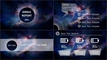 【星空】【IOS】【图表】可视化商务模板2