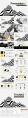 欧美 黑白 极简 # 创意数据报告模板示例6
