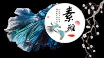 【素雅国韵】质感典藏画册级演示模板
